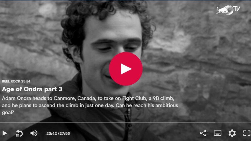 Adam Ondra vídeo de 'Disbelief' 9b