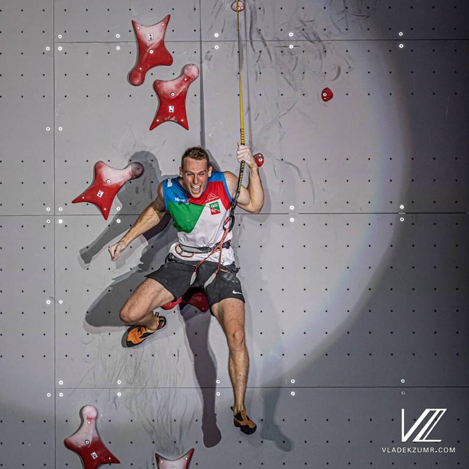Ludovico Fossali escalador de velocidad