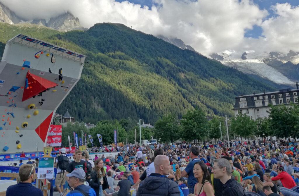 Ambiente público en Chamonix 2019