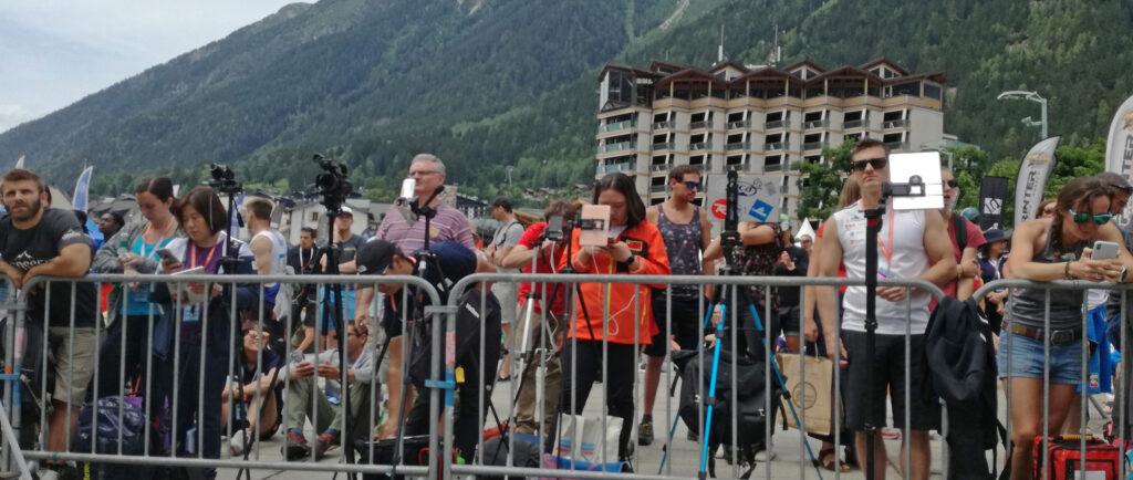 Mánagers en Chamonix 2019