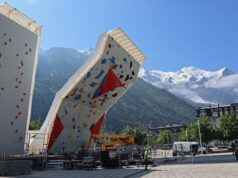 Route setting en Chamonix 2019