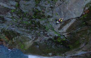 Toru Nakajima en solo integral en Shomyo Falls