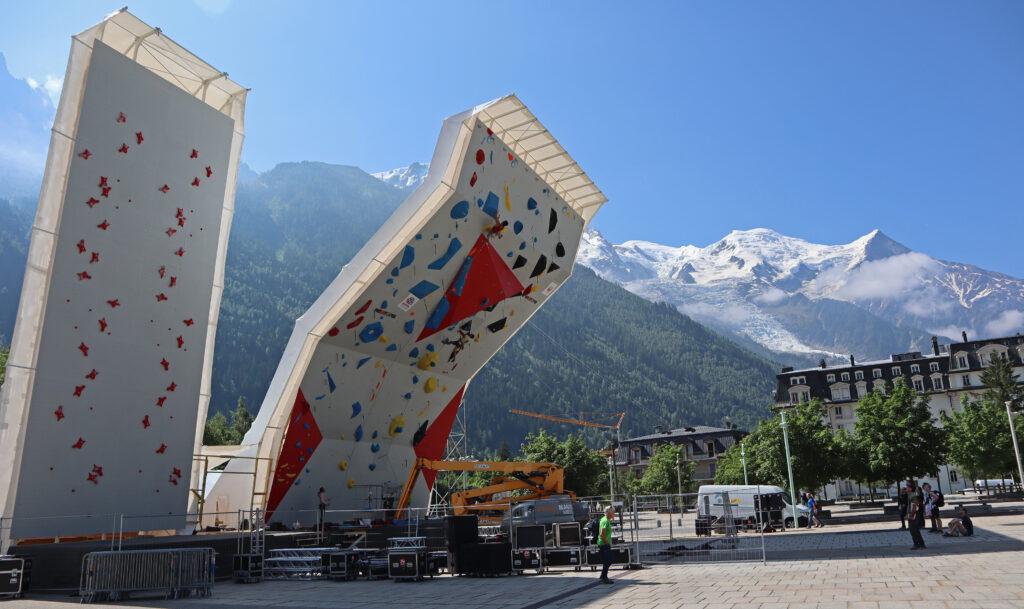 Route setting en Chamonix 2019