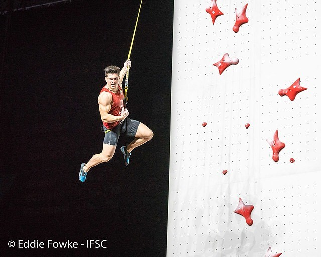Reza Alipour escalador de velocidad