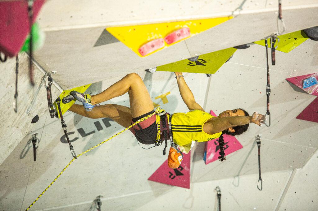 Laura Verdasco compitiendo en La Foixarda