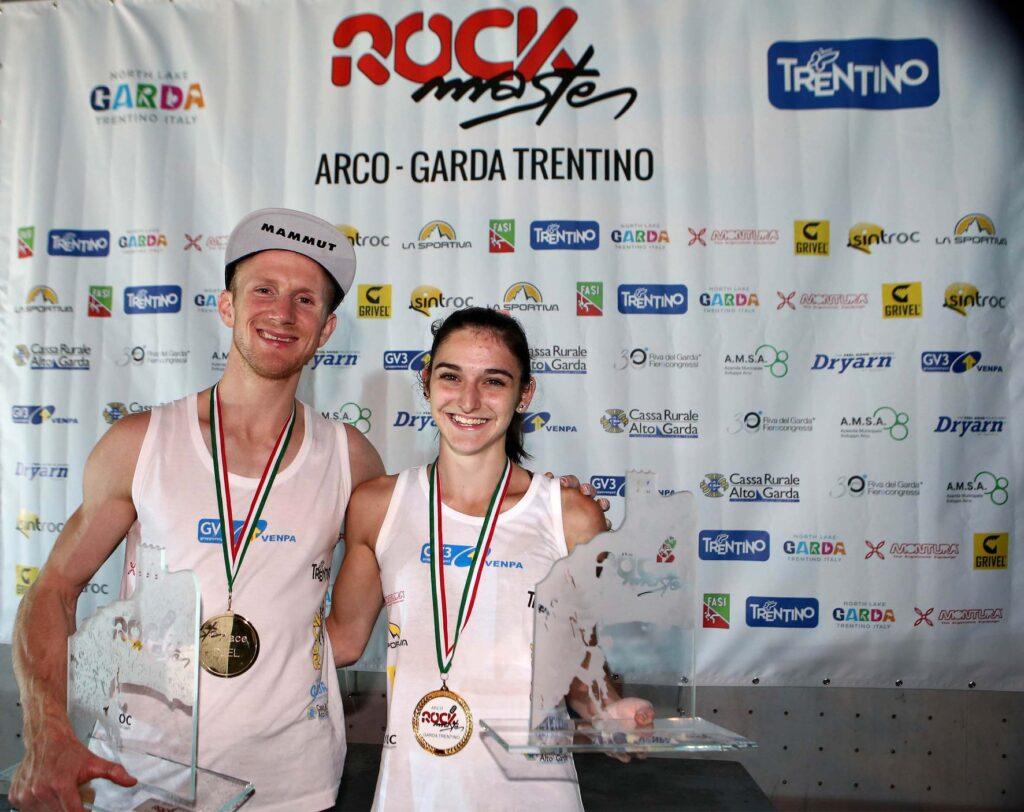 Jakob Schubert y Mia Krampl ganadores en Arco 2019