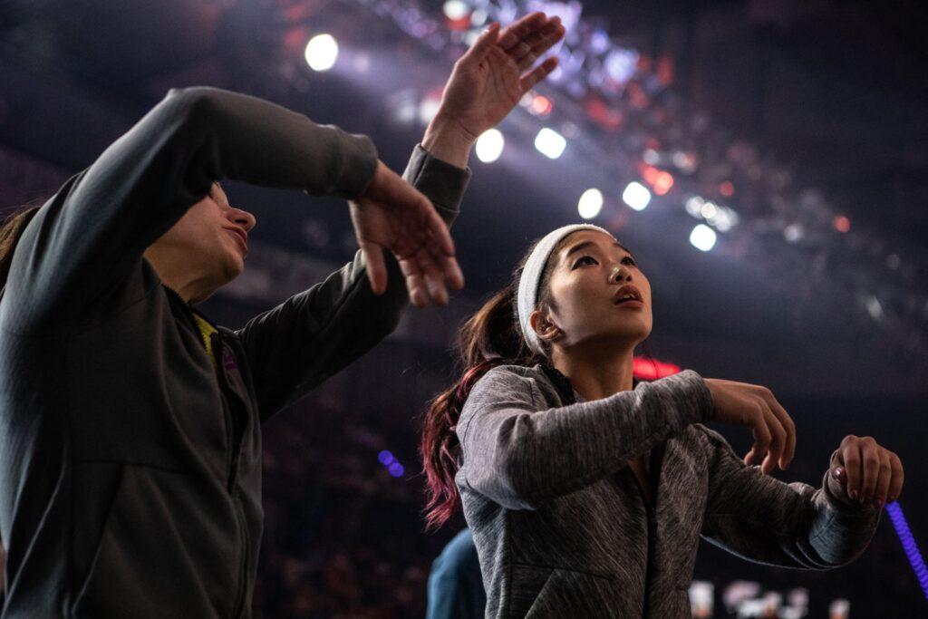 Miho Nonaka en Adidas Rockstars 2018