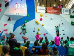 boulder en el Campeonato de España de Escalada 2019