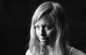 retrato de la escaladora Mina Leslie-Wujastyk