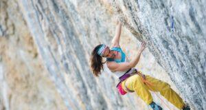 Berta Martín escaladora