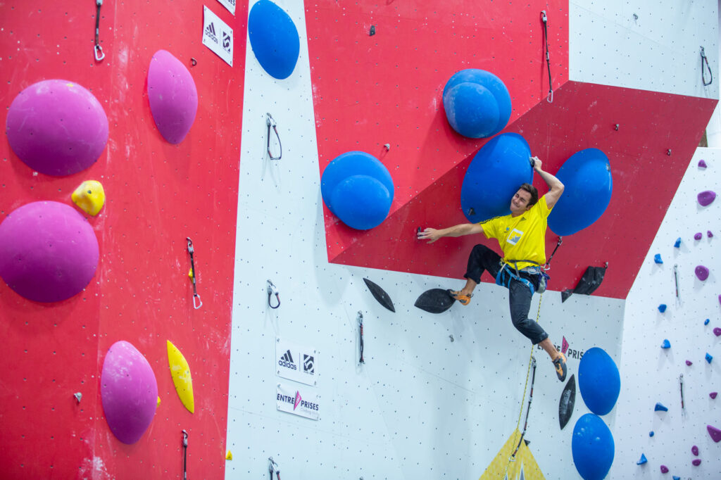 Pau Galofré en Climbat X-Madrid