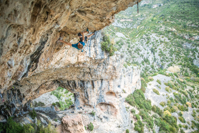 Seb Bouin en No Pain No Gain 9a+