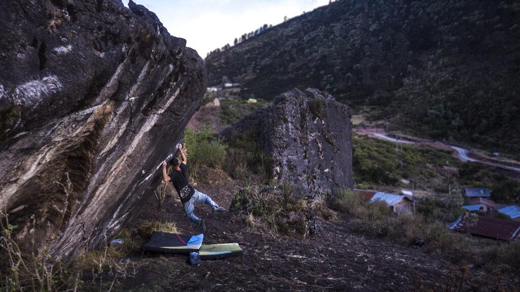 Boulder en Guatemala