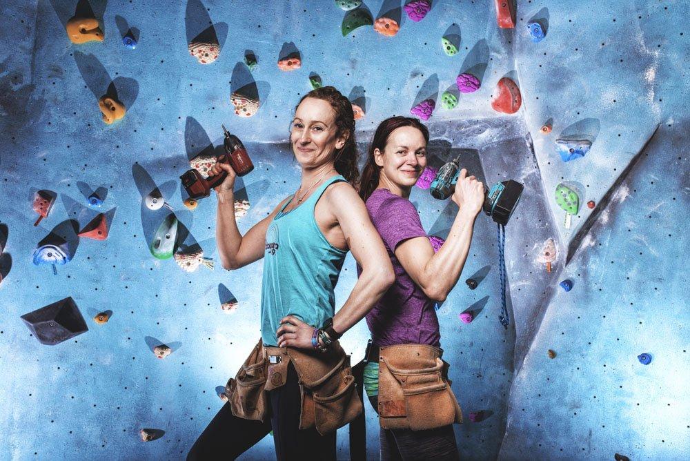 Evie Cotrulia y Emma Twyford