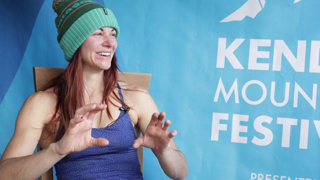 Emma Twyford escaladora británica