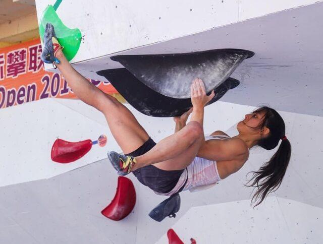 Alannah Yip escaladora de Canadá