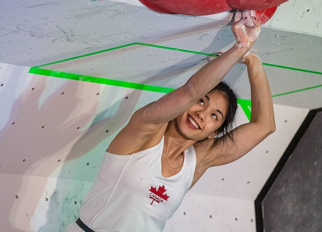 Alannah Yip escaladora canadiense