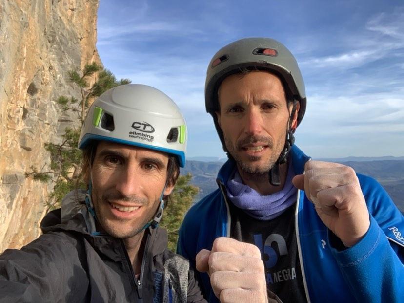 Dani Fuertes y Roberto Larripa