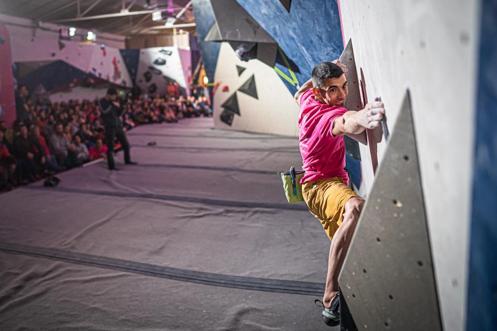 Jorge Díaz-Rullo en la Batec Boulder Party 2020