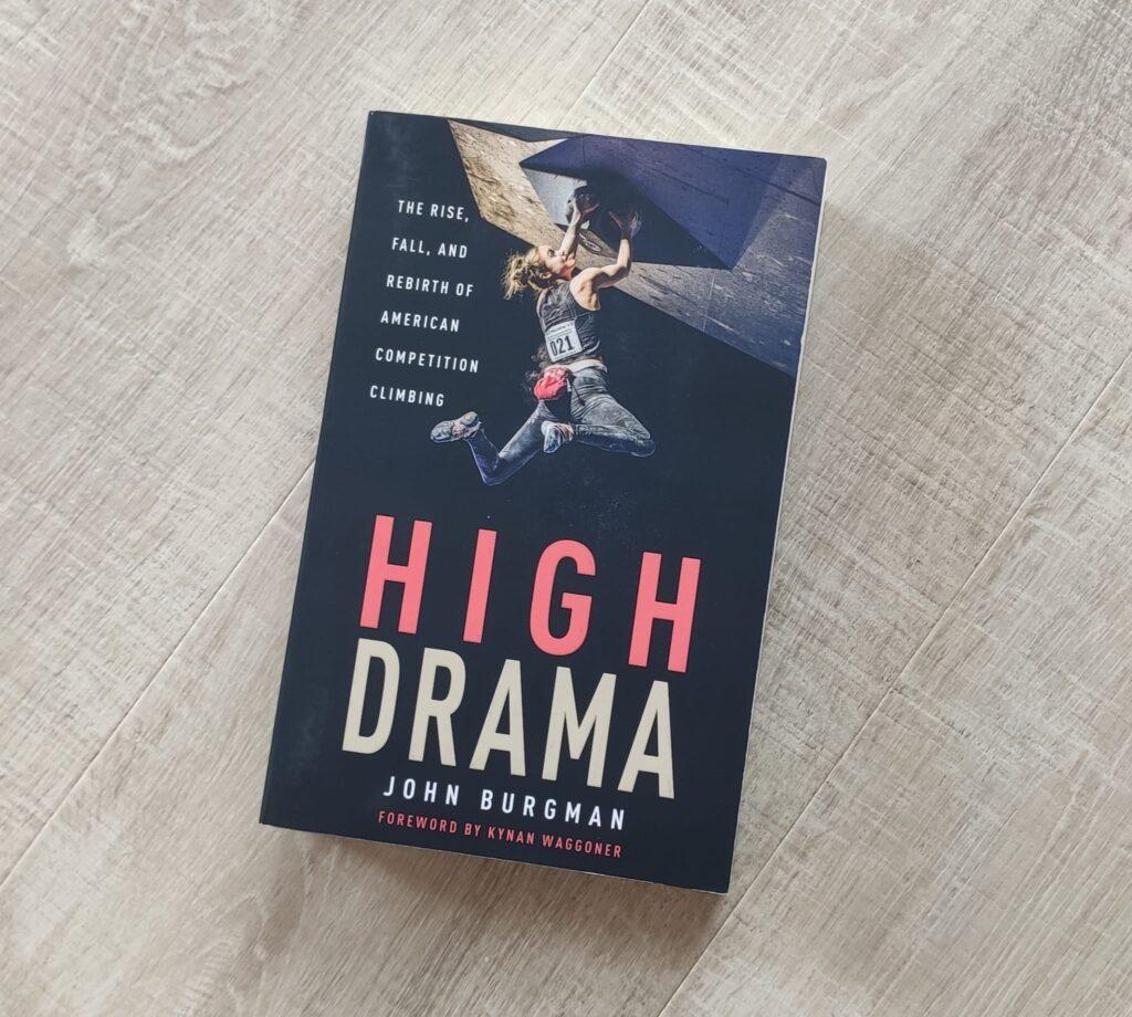 High Drama, libro de escalada