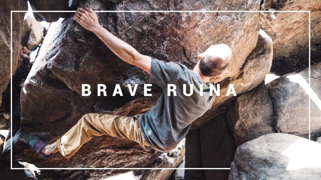 Thomas Lindinger en 'Brave Ruina' 8B+