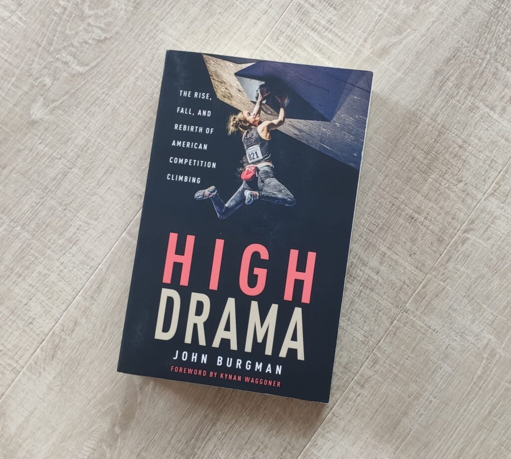High Drama, libro de escalada