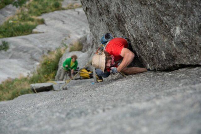Vía de escalada King of the Bongo
