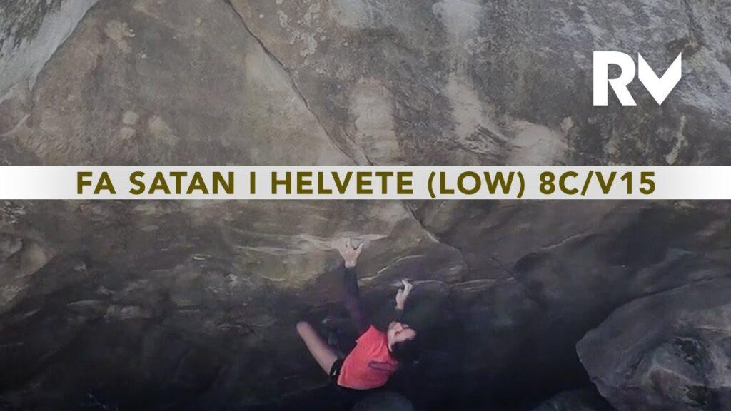 Oriane Bertone en 'Satan I Helvete low'