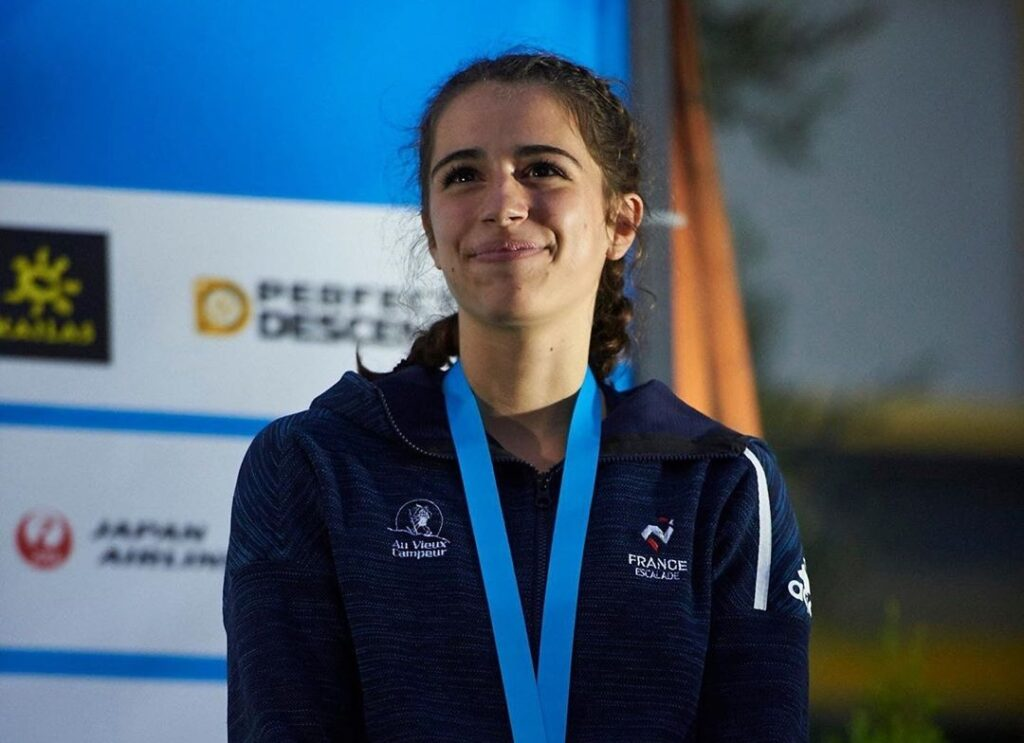 Luce Douady escaladora francesa