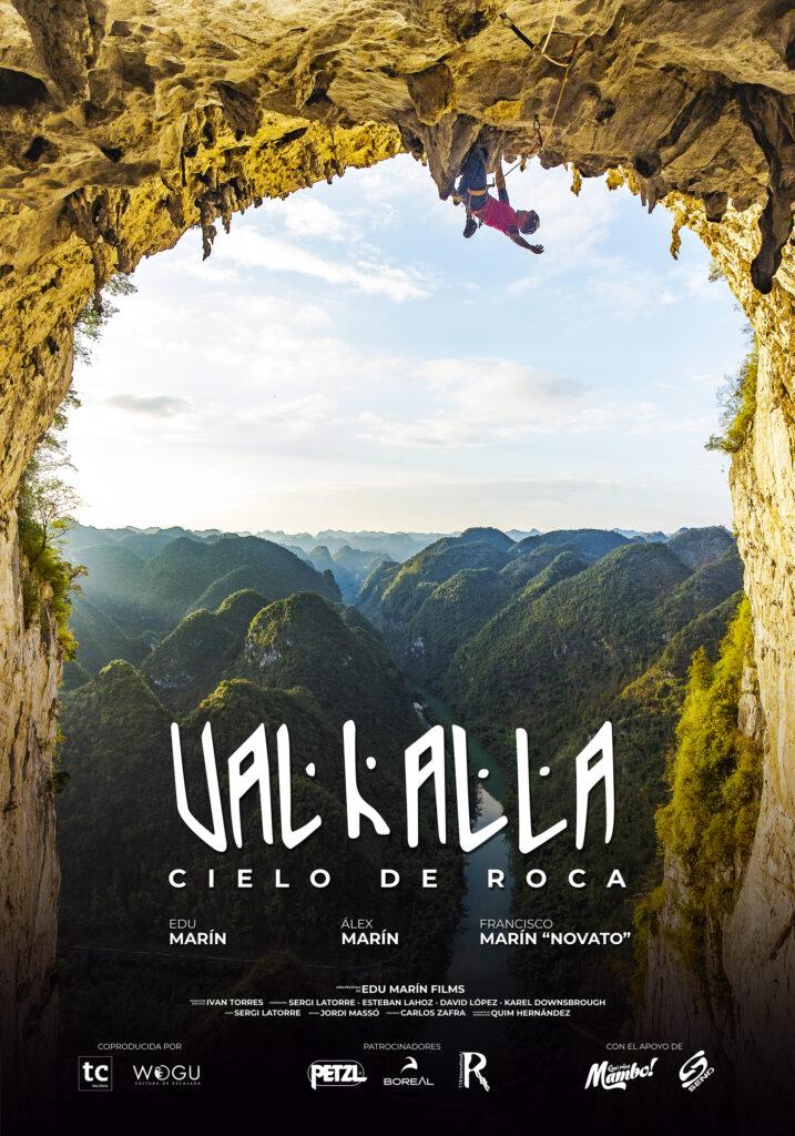 """Cartel de la película """"Valhalla, cielo de roca"""""""