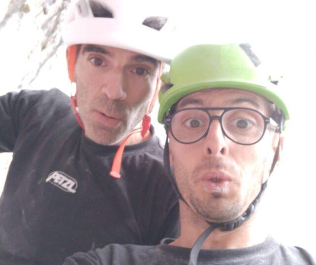 Dani Andrada y José Luis Palao