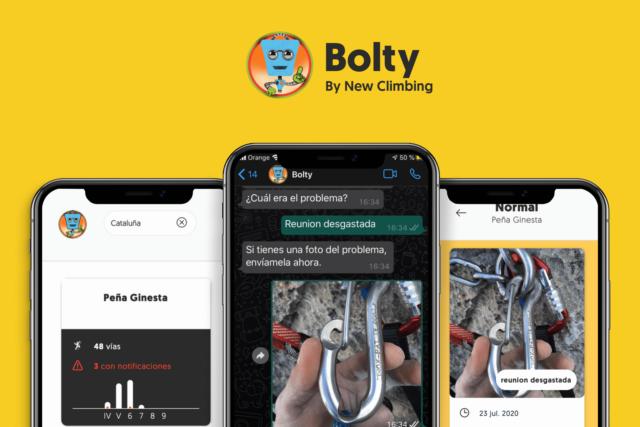 Bolty chatbot escalada