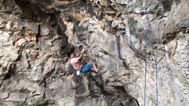Hyunbin Min escalador de Corea del Sur