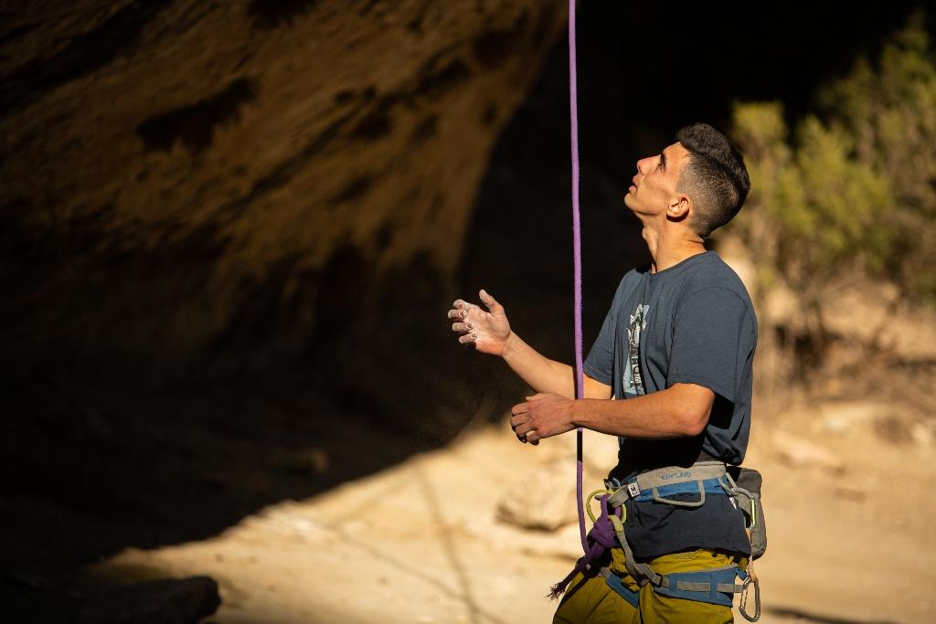 Jorge Díaz-Rullo escalador