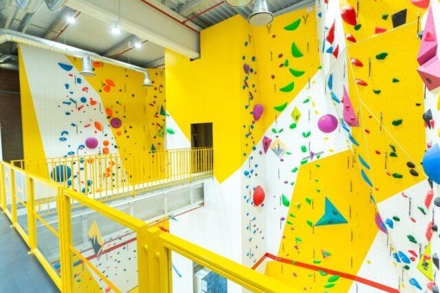 escalada con cuerda en Climbat Zaragoza