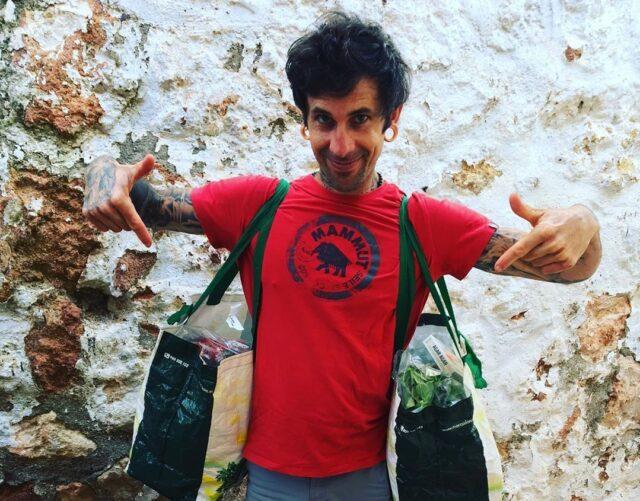 Luis Rodríguez escalador y nutricionista