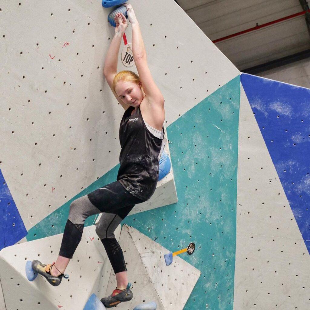 Erin Sterkenberg escaladora de Sudáfrica