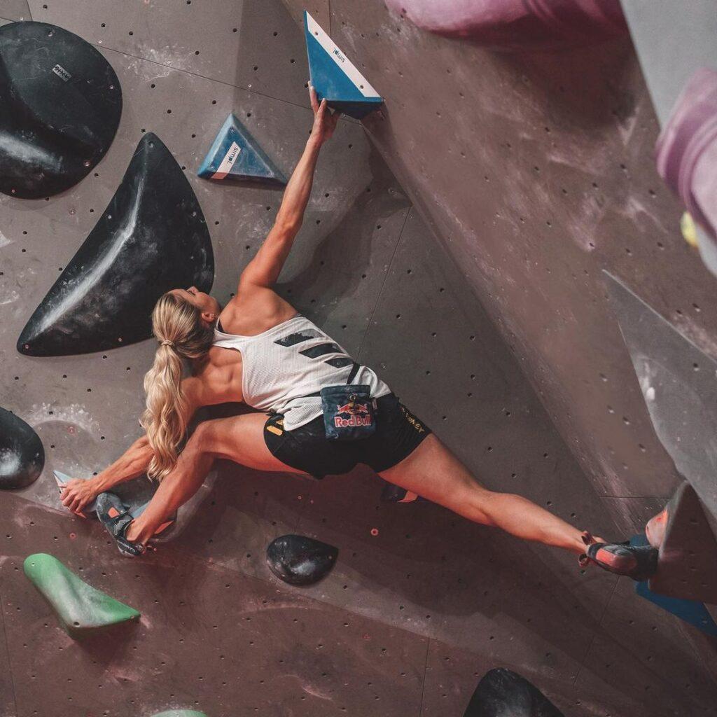 Petra Klinger escaladora suiza
