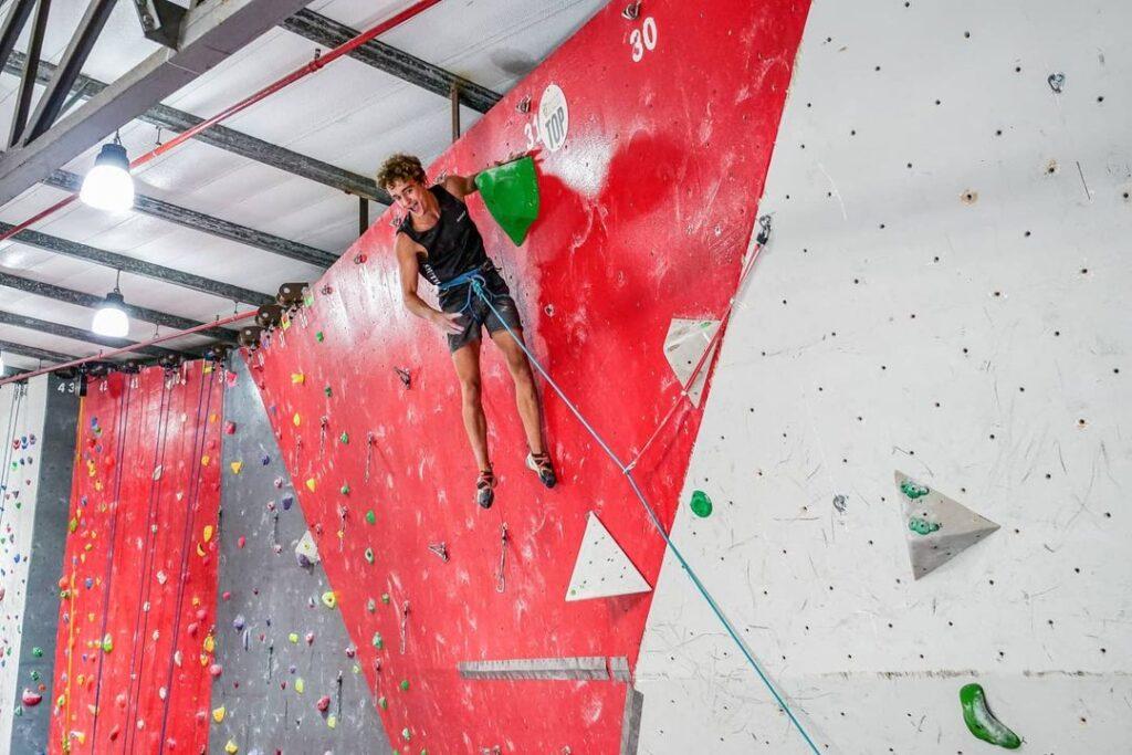 Christopher Cosser escalador de Sudáfrica