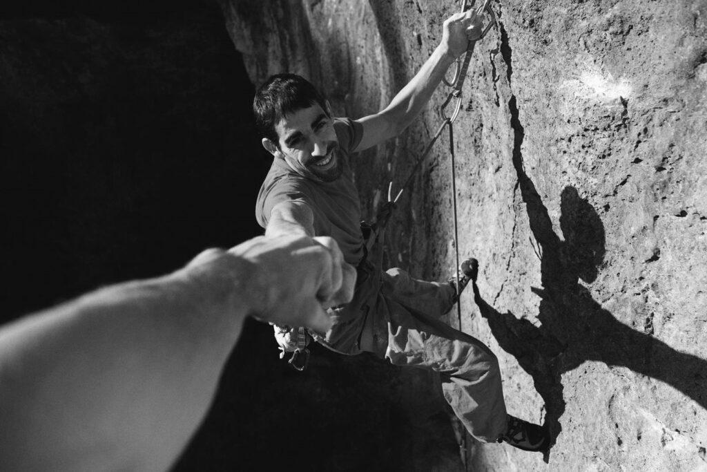 Uri Maraver escalador