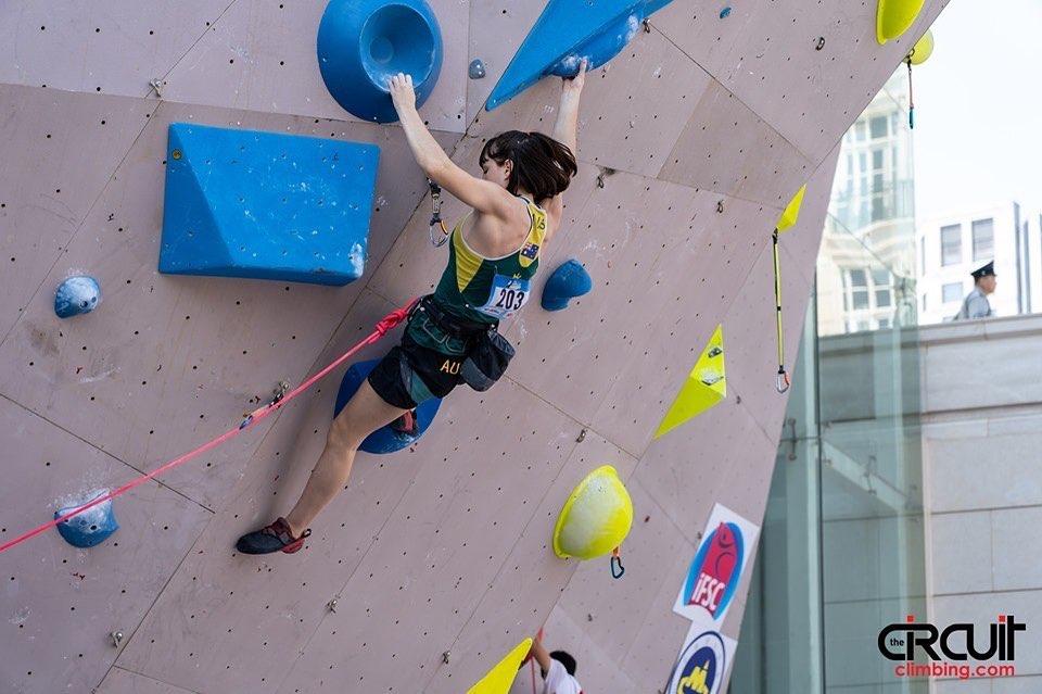 Oceana Mackenzie escaladora australiana
