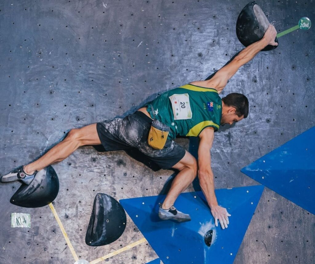 Tom O'Halloran escalador olímpico