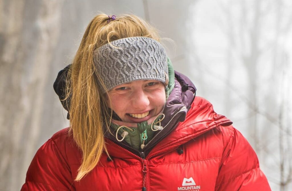 Martina Demmel escaladora
