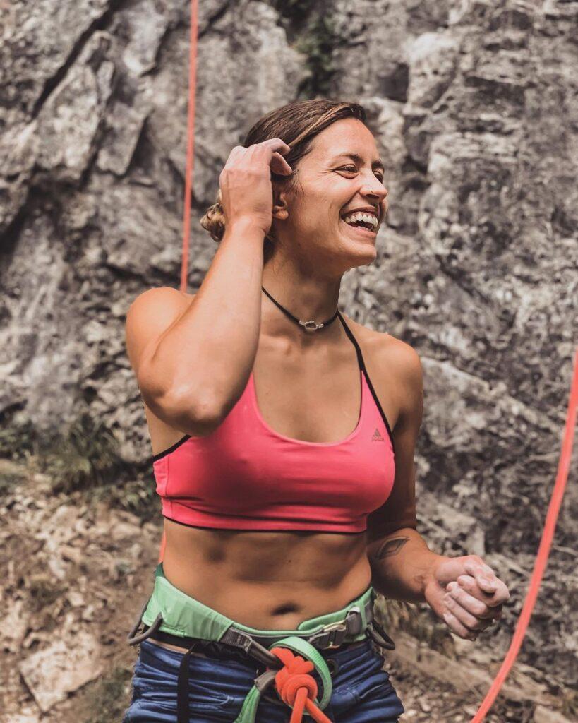 Lena Drapella escaladora