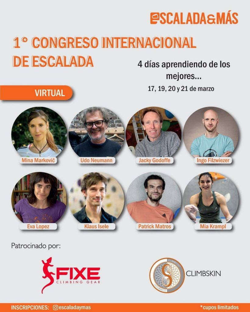 Cartel Primer Congreso Internacional de Escalada