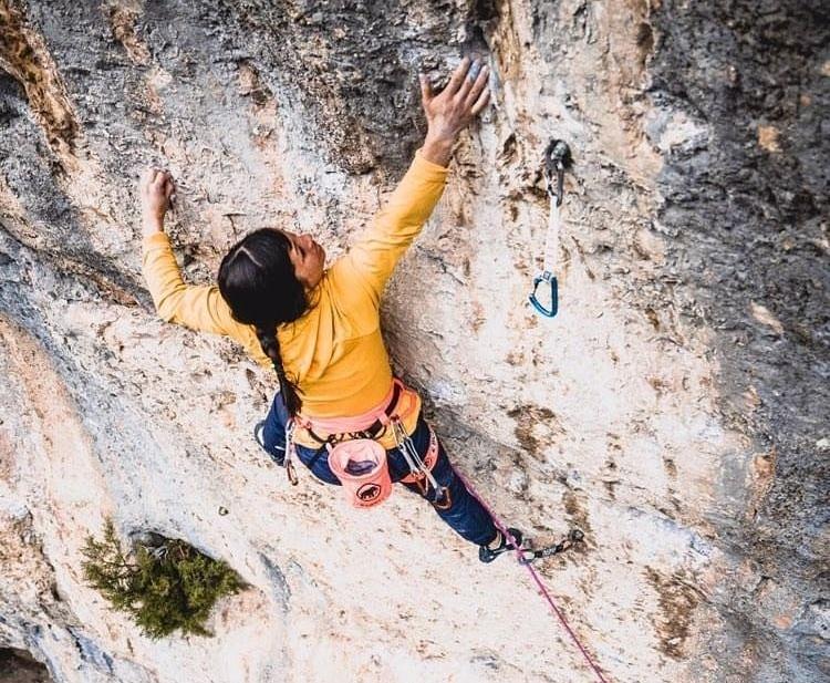 Katherine Choong escaladora suiza