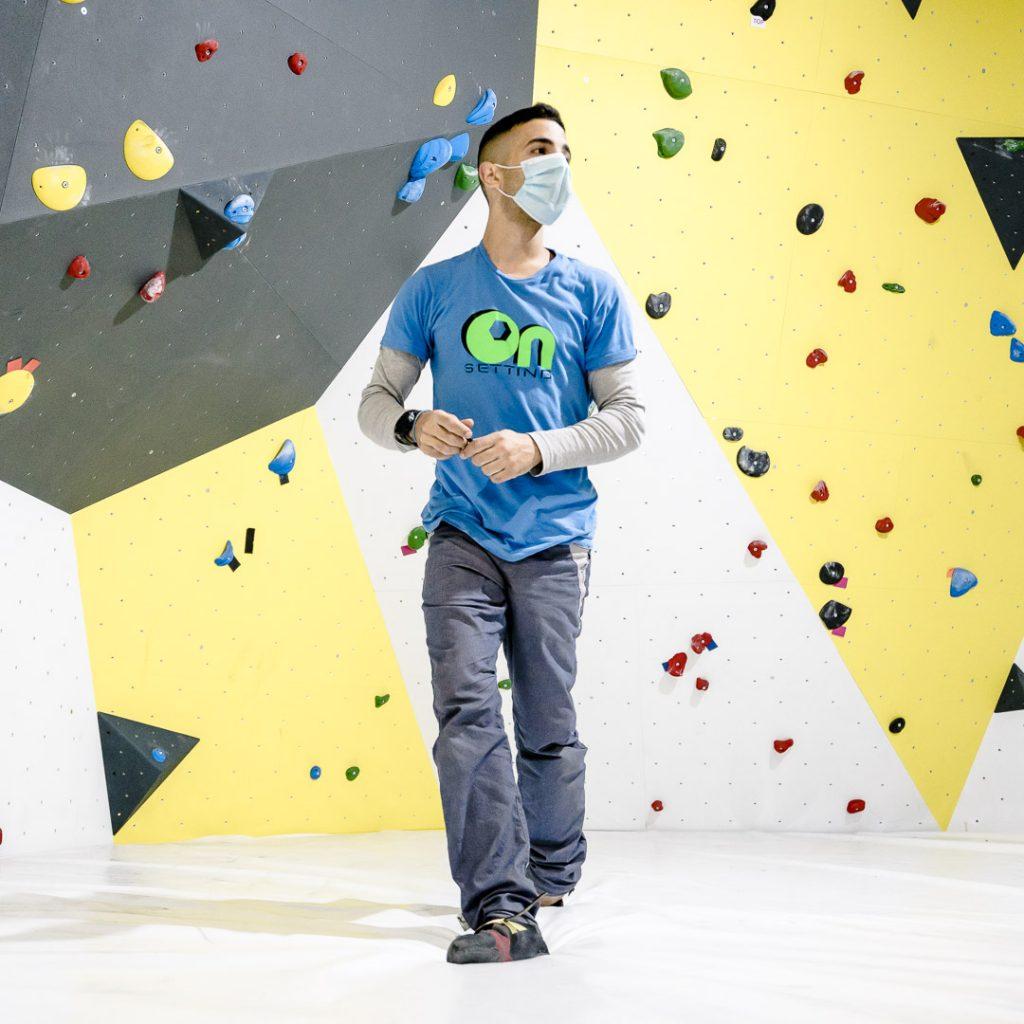 Sergio Verdasco escalador