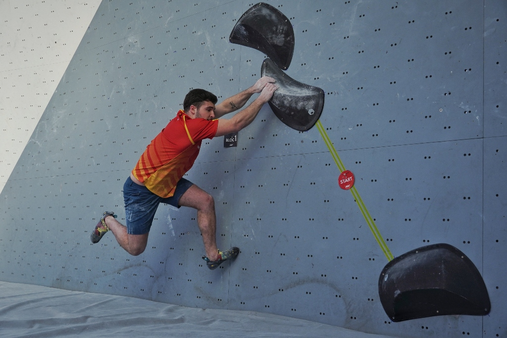 Eneko Carretero escalador