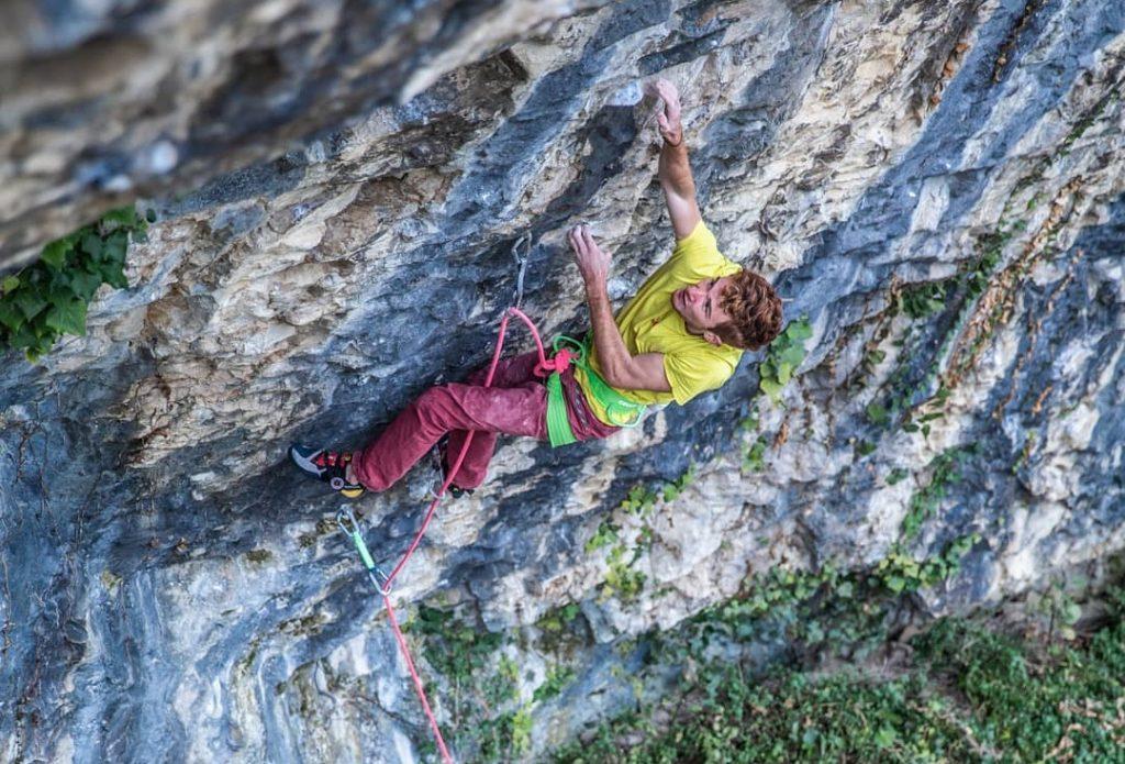 Loïc Zehani escalador