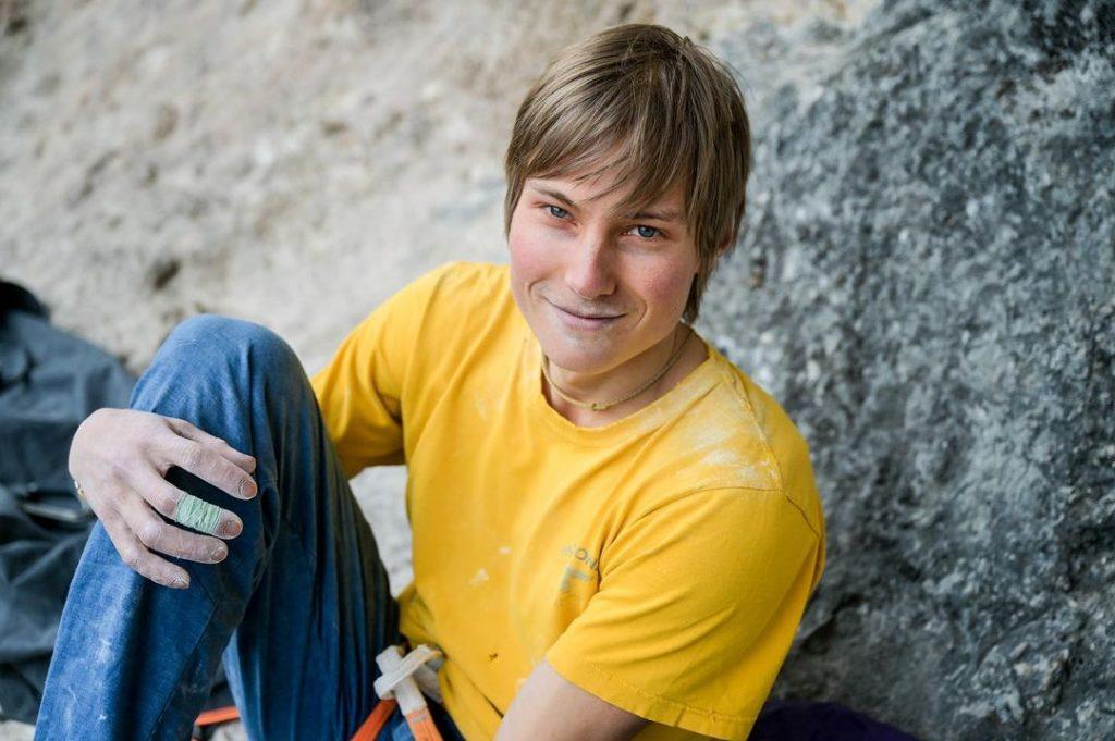 Alex Megos escalador